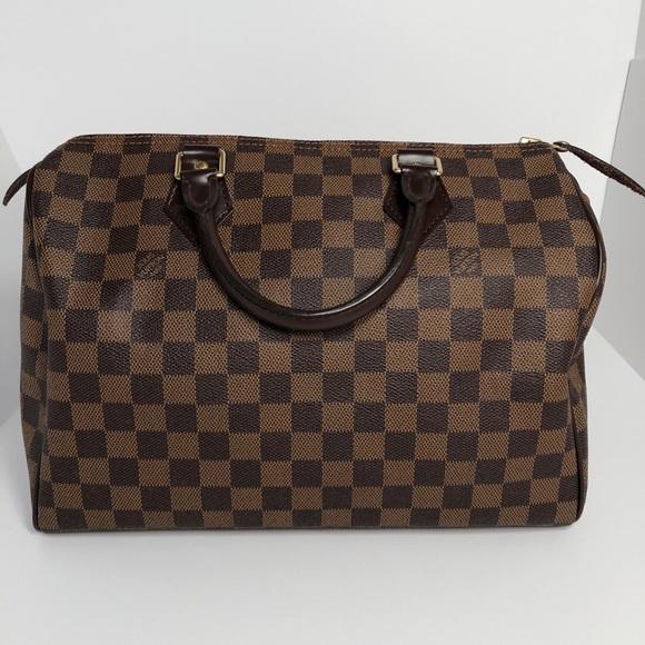 d3d0642d81 Louis Vuitton Handbags - Louis Vuitton Speedy 30 Damier